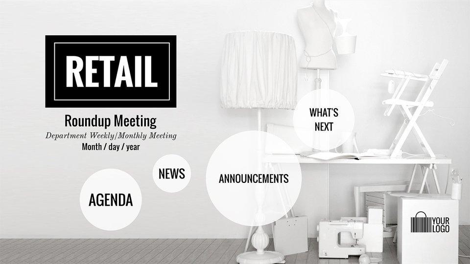 Round Up Meeting Retail