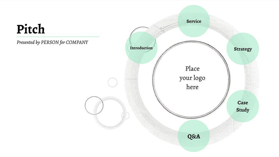 Pitch Presentation Template For Professionals